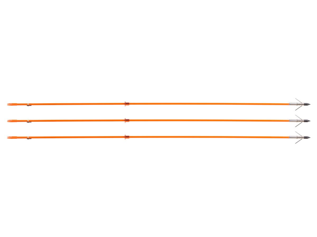 Pocket Shot Bowfishing Arrows, 3 pack