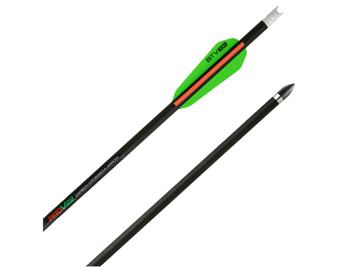 TenPoint Pro-V 22 Arrows, 6 Pack