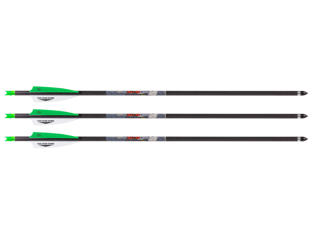 TenPoint Lighted Pro Elite 400 Arrows, 3 Pack