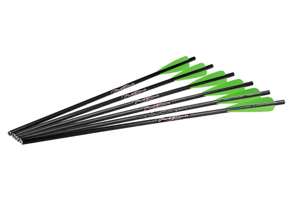 """Excalibur FireBolt 20"""" Carbon Arrows, 6 Pack"""