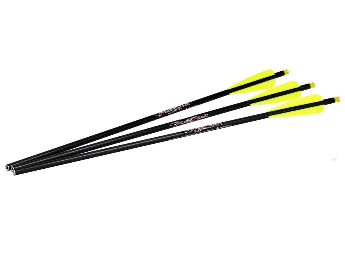 "Excalibur FireBolt 20"" Illuminated Carbon Arrows, 3 Pack"