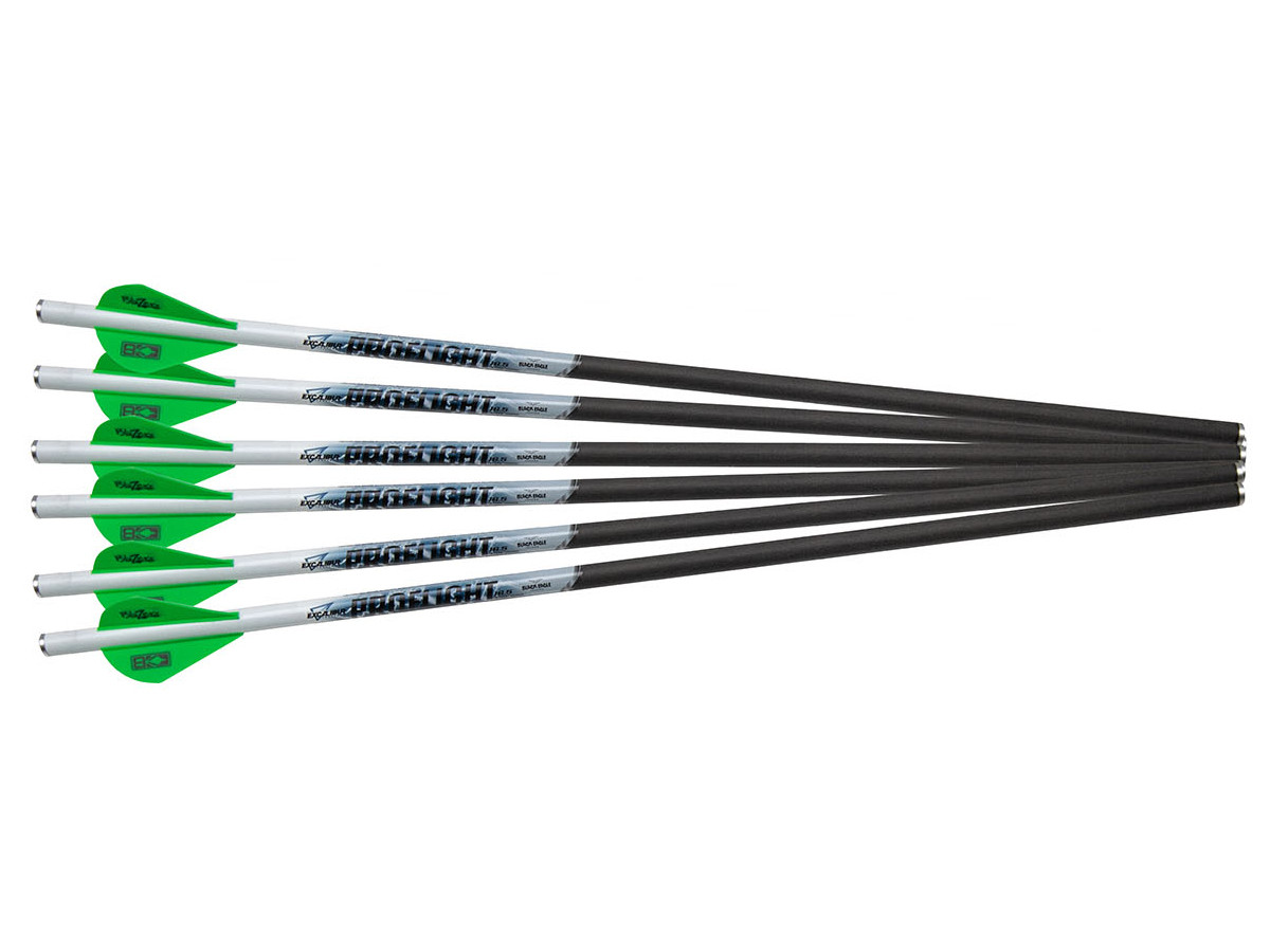 """Excalibur Proflight 16.5"""" Carbon Arrows, 6 Pack"""