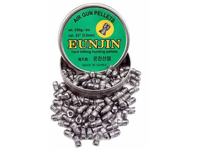 Eun Jin .22 Cal, 28.4 Grains, Domed, 125ct