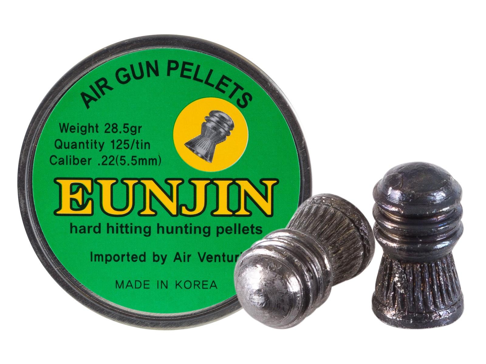 Eun Jin .22 Cal, 28.5 Grains, Domed, 125ct
