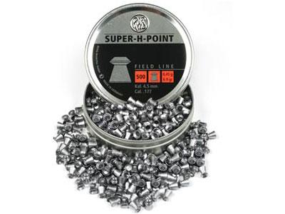 RWS Super-H-Point .177 Cal, 6.9 Grains, Hollowpoint, 500ct