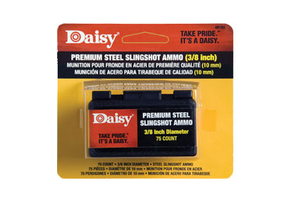 Daisy Powerline Premium Steel Slingshot, 70ct