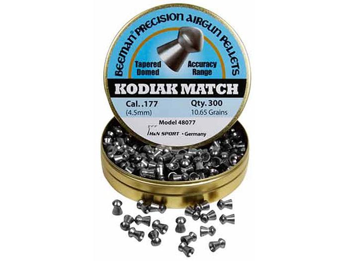 Beeman Kodiak Match Extra Heavy .177 Cal, 10.65 Grains, Round Nose, 300ct