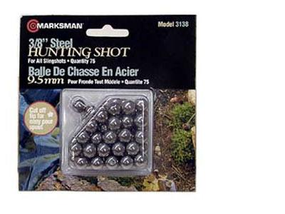 "Marksman 3/8"" Steel Shot, 75ct"