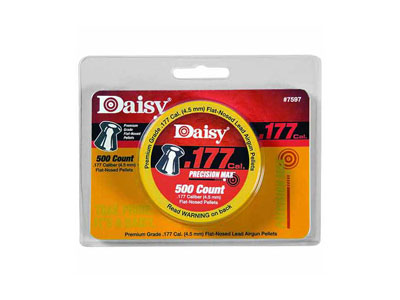 Daisy Precision Max .177 Cal, 7.8 Grains, Wadcutter, 500ct