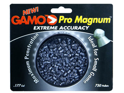 Gamo Pro Magnum .177 Cal, 7.8 Grains, Pointed, 750ct