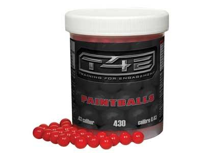 RAM .43-Caliber Paintballs, Red, 430rds