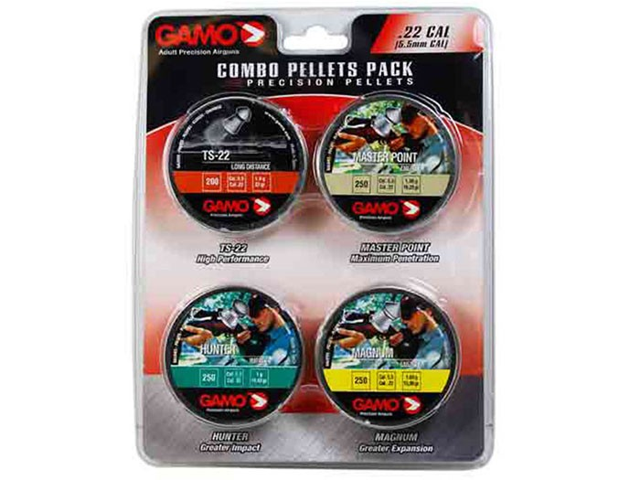 Gamo Precision Combo Pack, .22 Cal, 950ct