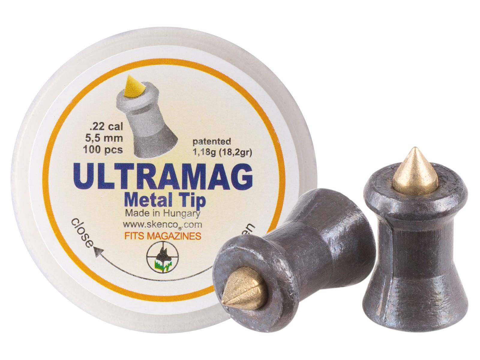 Skenco UltraMag .22 Cal, 18.2 Grains, Pointed, 100ct