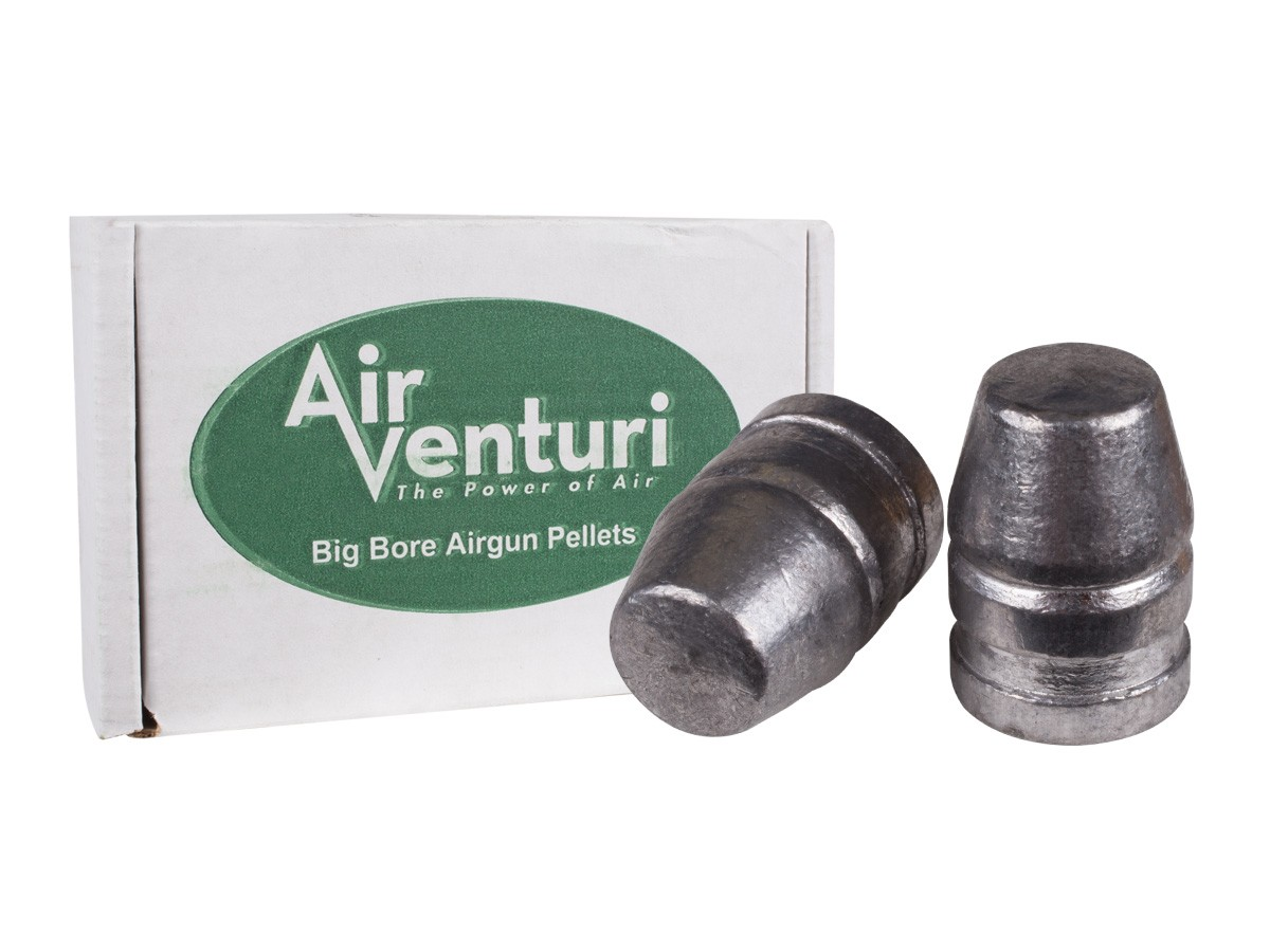 Air Venturi .50 Cal, 336 Grains, Flat Nose, 50ct
