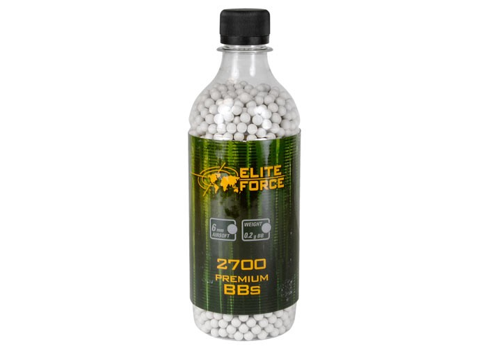 Umarex Elite Force Airsoft BBs, .20g, 2,700 Rds