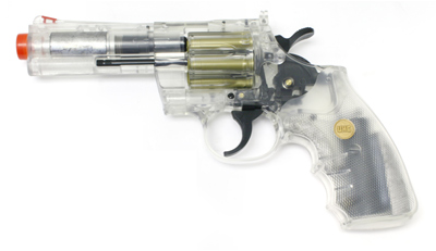 937 UHC 4 inch revolver, Clear