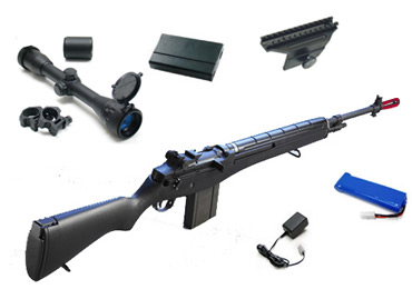Airsoft M14 Sniper Rifle Kit 1