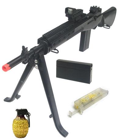 how to build a spring airsoft gun