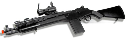 TSD Sports M116 Sniper Spring Airsoft Rifle Combo