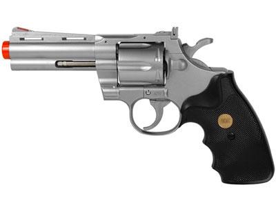 937 UHC 4 inch revolver, Silver