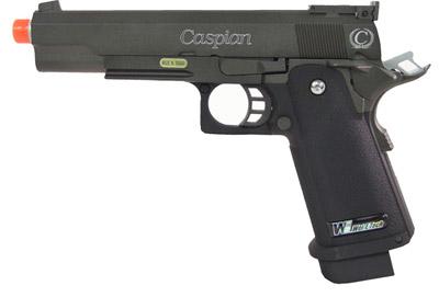 Caspian Hi-Capa 5.1 Green Gas Pistol