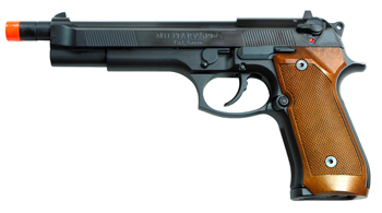 WE M-92 Military Spec. Extended Gas Pistol