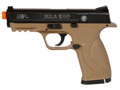 Smith & Wesson M&P 40 CO2 Pistol, Dark Earth Brown Smith & Wesson