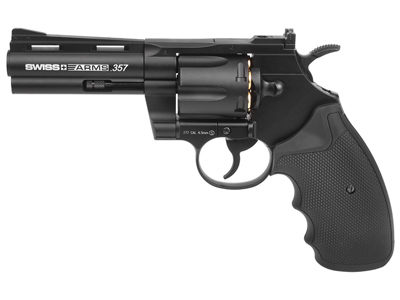 Swiss Arms .357 CO2 BB Revolver, 4""