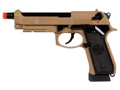 Taurus PT92 CO2 Full Metal Airsoft Pistol, Tan