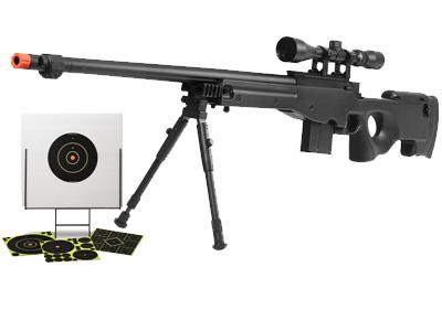 TSD Tactical Series Type 96 Sniper Combo, Black