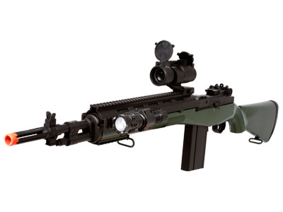 TSD Sports M100 Spring Action Sniper Rifle, Green