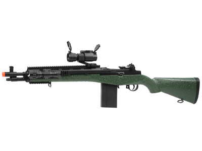 TSD Sports M116 Sniper Spring Airsoft Combo, Green