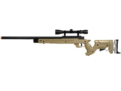 TSD Tactical SD97 Airsoft Sniper Rifle, Tan