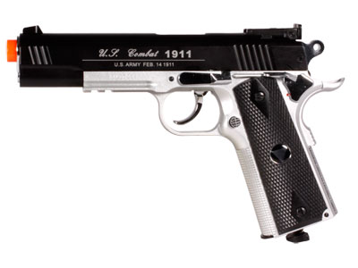 Tactical-601 CO2 Blowback M1911, BSB