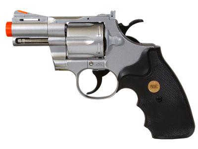 "TSD UHC 142SR Gas Airsoft Revolver, 2.5"" Barrel"