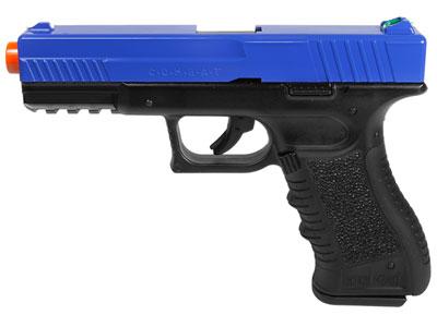 Tactical Force Combat CO2 pistol, LE Blue