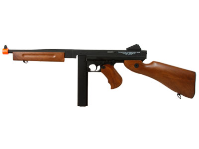 Thompson M1A1 Metal AEG with extra Drum Magazine