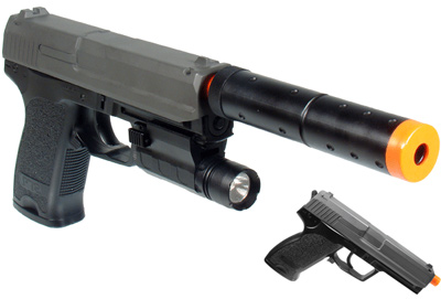 UTG Navy Commando Airsoft Electric Pistol
