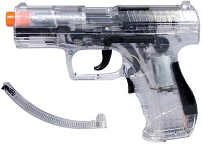 Walther P99 Clear Airsoft Electric Pistol