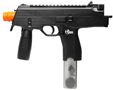 Combat Zone MAG-9 Electric Submachine Gun, Black