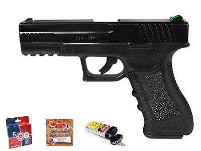 All-Day Shootin' Fun, 16-rd BB Pistol