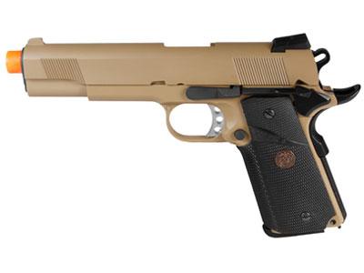 WE Full Metal 1911 MEU Desert Gas Pistol WE