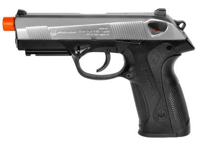 HK3 3-PX4 Custom Airsoft GBB Pistol, Silver Slide
