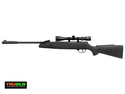 Webley Valuemax Air Rifle Combo, Black