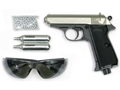 Walther PPK/S Silver Combo