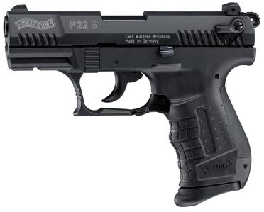 Walther P22 S Blank Gun, Black
