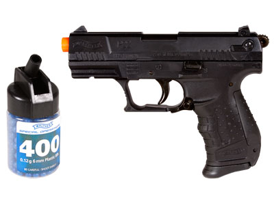 Walther P22 Special Operations, Black