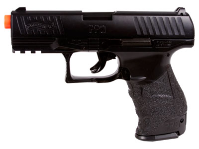 Walther PPQ Spring Airsoft Pistol, Black