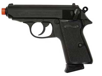 Walther PPK/S Gas Blowback Airsoft Pistol
