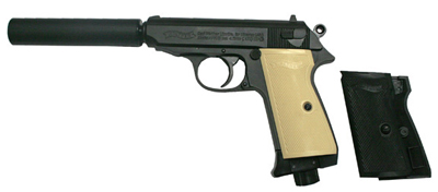 Walther PPK/S Classic, Ivory-Colored Grips